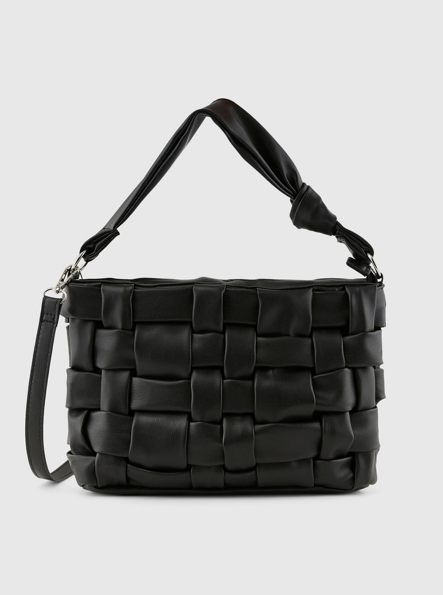 Pieces črna crossbody torbica Jiread