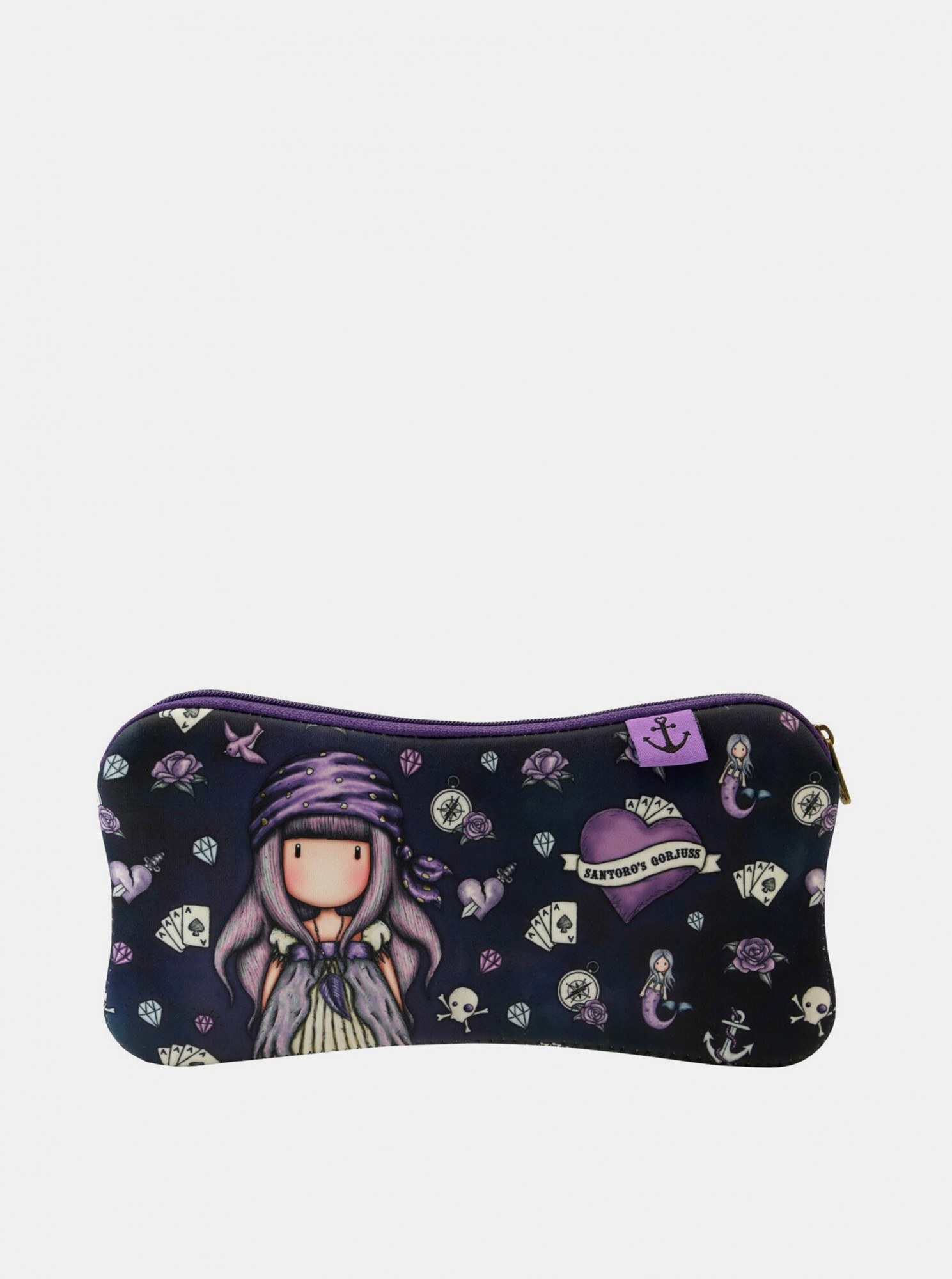 Santoro črna neopren etui Gorjuss Pirates Sea Nixie